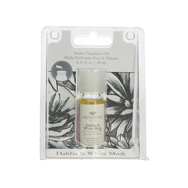 Greenleaf - Home Fragrance Oil - Duftöl - Dahlia & White Musk
