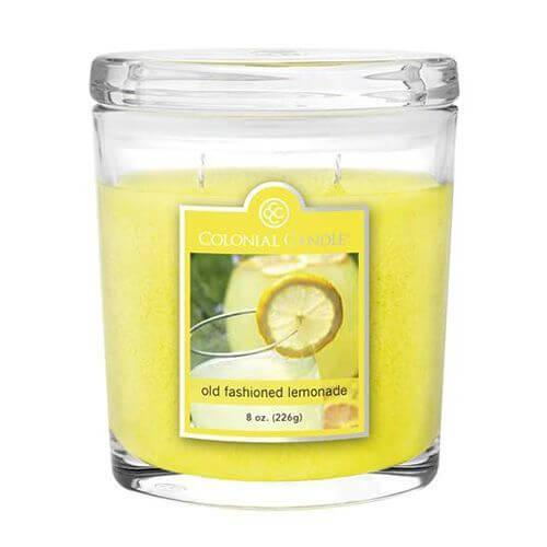 Colonial Candle - Kleine Duftkerze im Glas - Oval Collection - Old Fashioned Lemonade