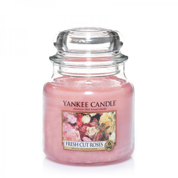 Yankee Candle - Classic Medium Jar Housewarmer - Fresh Cut Roses