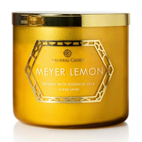 Colonial Candle - Mittlere Duftkerze im Glas - Everyday Luxe - Meyer Lemon