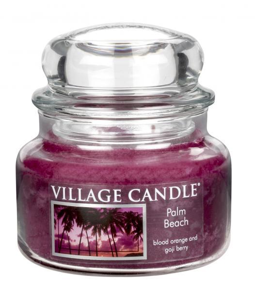 Village Candle - Small Glass Jar - Palm Beach