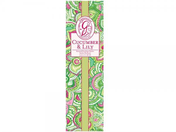 Greenleaf - Duftsachet Slim - Cucumber & Lily