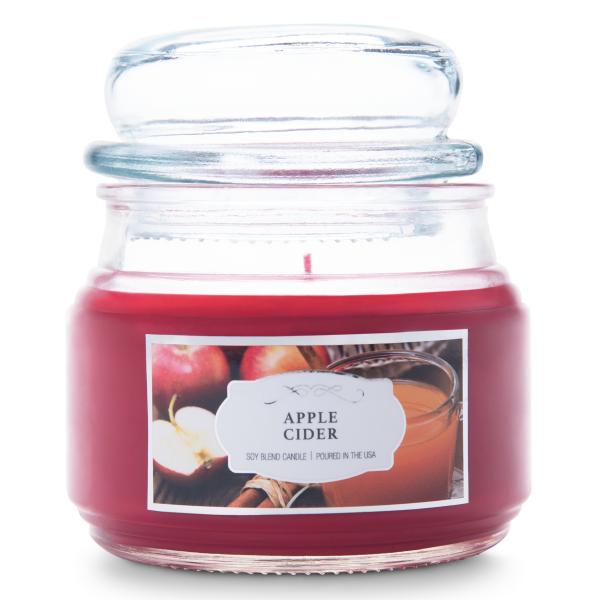Colonial Candle - Kleine Duftkerze im Glas - Terrace Jar - Apple Cider Terrace