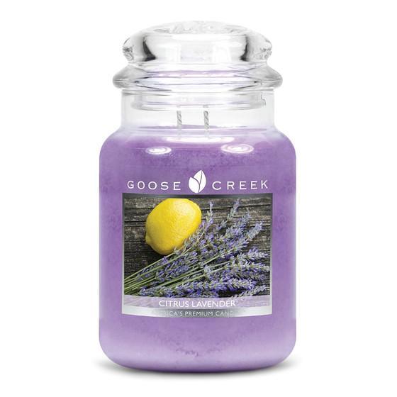Goose Creek Candle - Classic Jar Duftkerze im Glas - Citrus Lavender