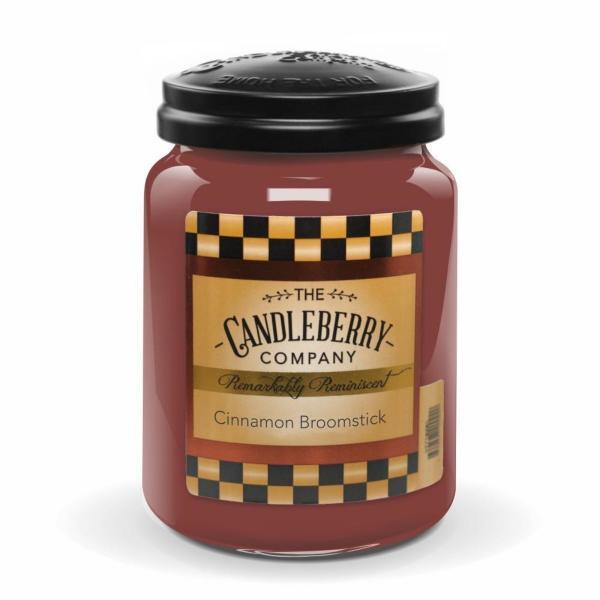 Candleberry - Duftkerze im Glas - Cinnamon Broomstick