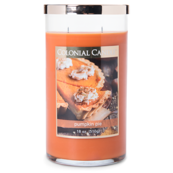 Colonial Candle - Große Duftkerze im Glas - Classic Cylinder - Colonial Pumpkin Pie