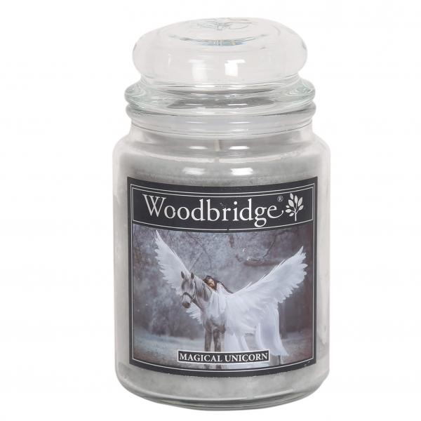 Woodbridge Candle - Große Duftkerze im Glas - Magical Unicorn