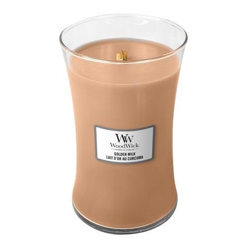 WoodWick - Large Hourglass Duftkerze - Golden Milk
