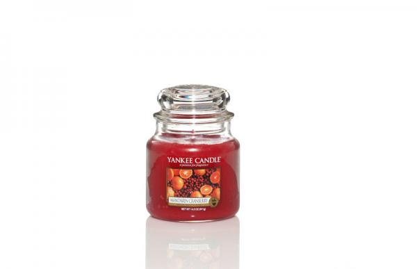 Yankee Candle - Classic Medium Jar Housewarmer - Mandarin Cranberry