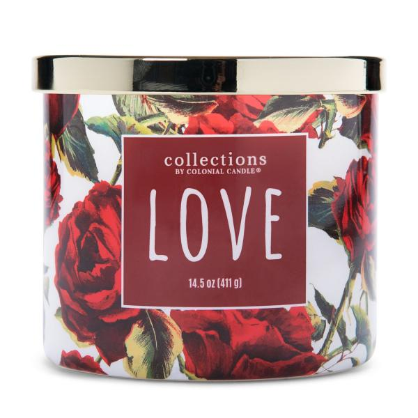 Colonial Candle - Mittlere Duftkerze im Glas - Everyday Luxe - Vday Love