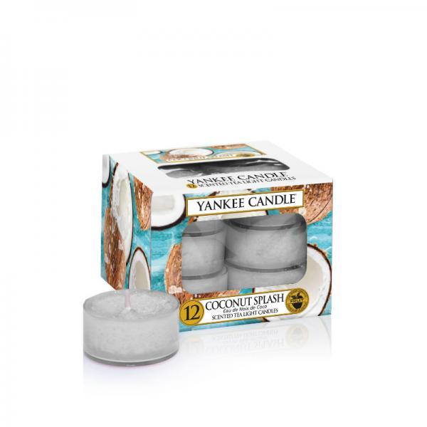 Yankee Candle - Teelichter - Classic Tea Lights - Coconut Splash