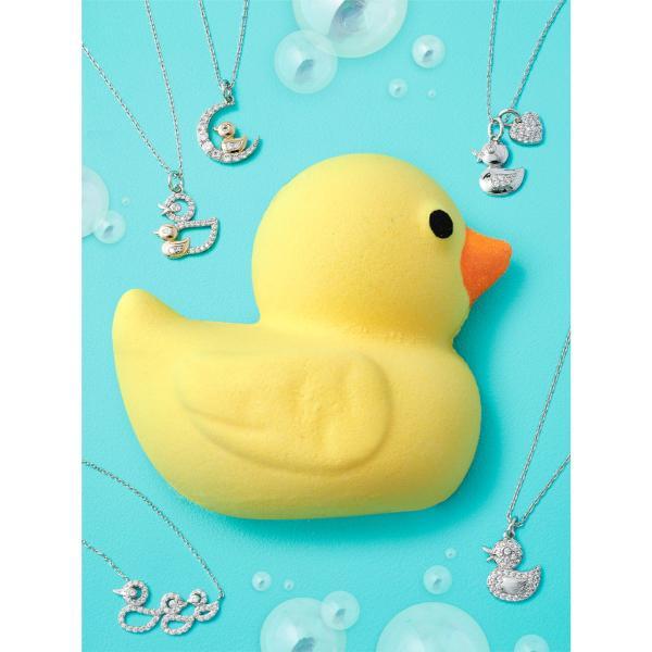 Charmed Aroma - Badebombe mit Schmuck - Rubber Ducky (Halskette)