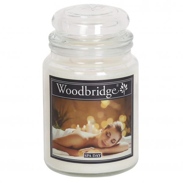 Woodbridge Candle - Große Duftkerze im Glas - Spa Day