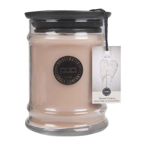 Bridgewater Candle - Kleine Duftkerze im Glas - Small Jar - Sweet Grace