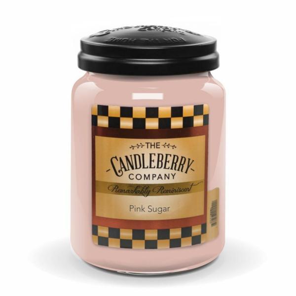Candleberry - Duftkerze im Glas - Pink Sugar