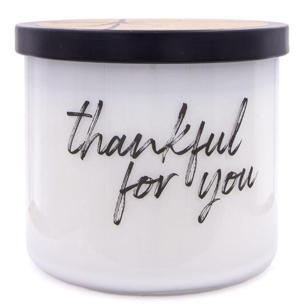 Colonial Candle - Mittlere Duftkerze im Glas - Everyday Luxe - Thankful For You