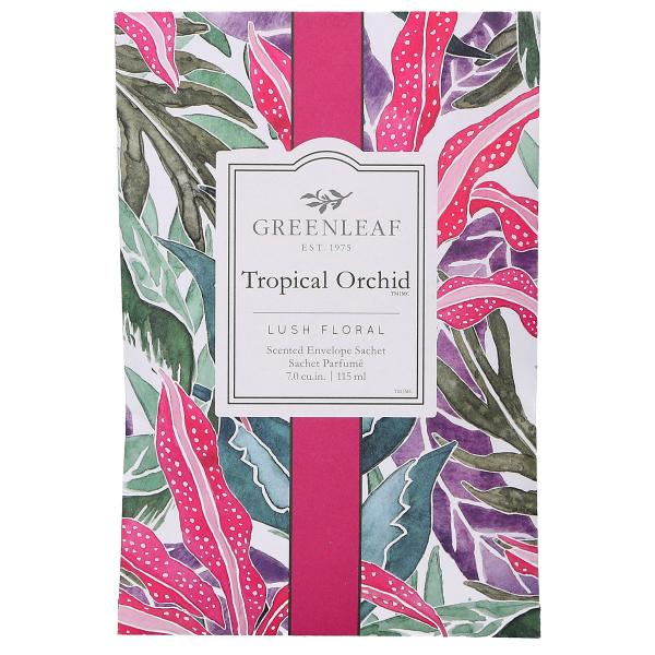 Greenleaf - Duftsachet Large - Tropical Orchid