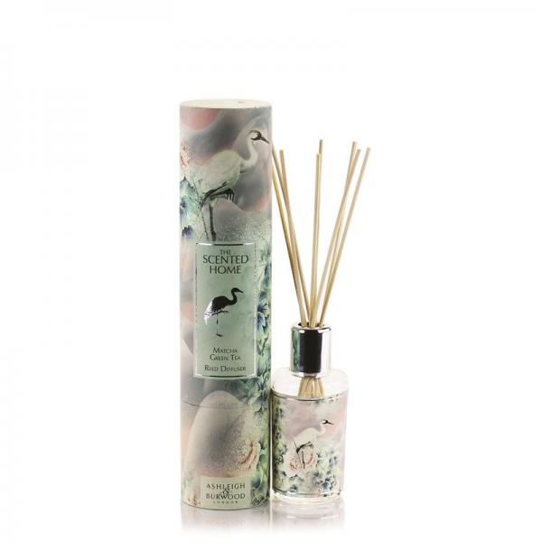 Ashleigh & Burwood - The Scented Home - Reed Diffuser - Matcha Tea