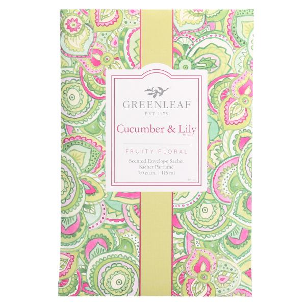 Greenleaf - Duftsachet Large - Cucumber & Lily