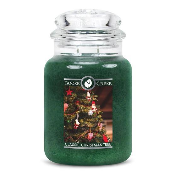 Goose Creek Candle - Classic Jar Duftkerze im Glas - Classic Christmas Tree