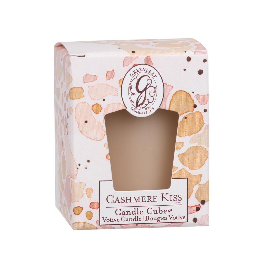 greenleaf candle cube votivkerze duftkerze cashmere kiss candle cube votivkerzen. Black Bedroom Furniture Sets. Home Design Ideas