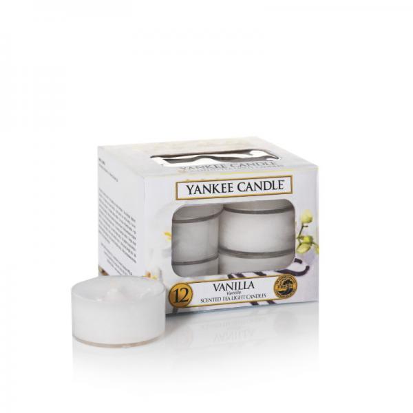 Yankee Candle - Teelichter - Classic Tea Lights - Vanilla