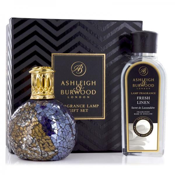 Ashleigh & Burwood - Geschenkset - Duftlampe Masquerade & 250ml Fresh Linen