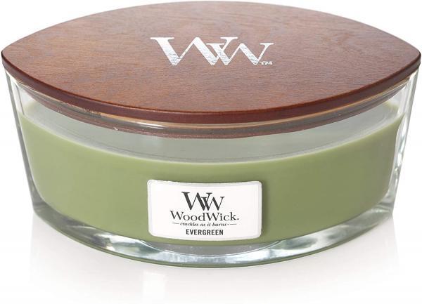 WoodWick - Hearthwick Ellipse Jar - Evergreen