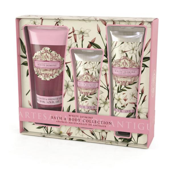 STC - Triple AAA Bath & Body Collection White Jasmine
