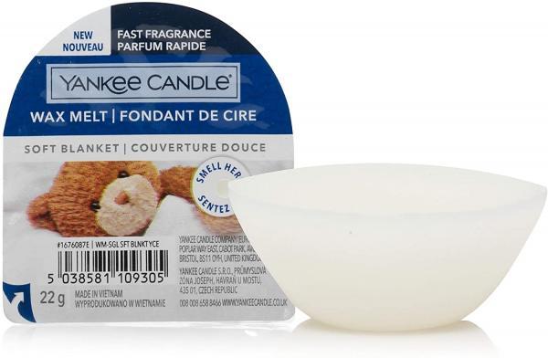 Yankee Candle - Wax Melt - Duftwachs - Soft Blanket