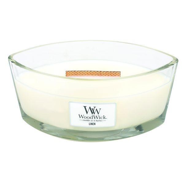 WoodWick - Hearthwick Flame Candle - Linen
