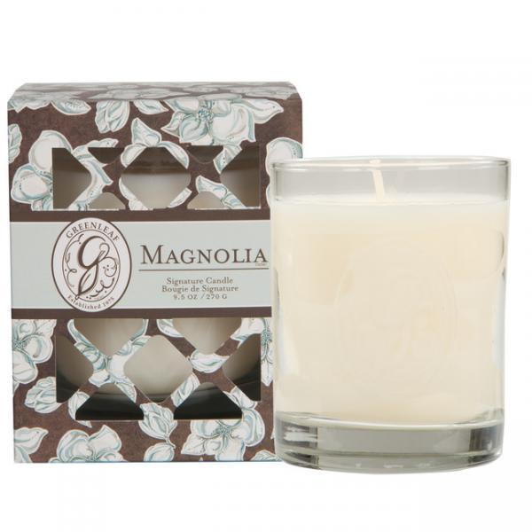 Greenleaf - Duftkerze im Glas - Signature Candle - Magnolia