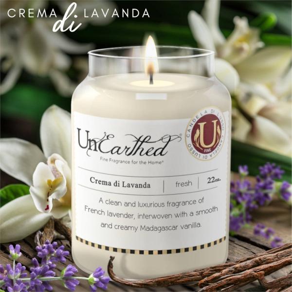 Candleberry - Duftkerze im Glas - Crema di Lavanda