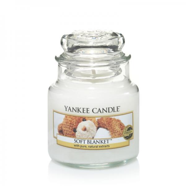 Yankee Candle - Classic Small Jar Housewarmer - Soft Blanket