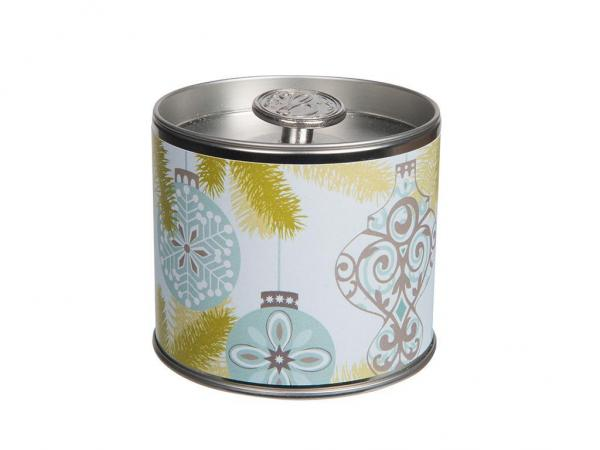 *Greenleaf - Signature Candle Tin - Duftkerze in Dose - Silver Spruce