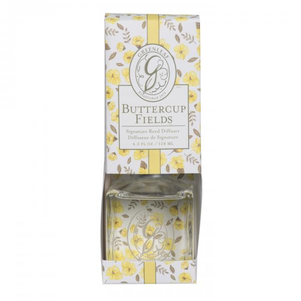 *Greenleaf - Signature Reed Diffuser - Buttercup Fields