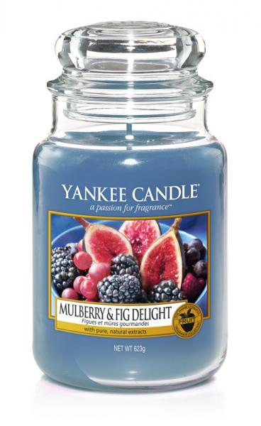 Yankee Candle - Classic Large Jar Housewarmer - Mulberry & Fig Delight