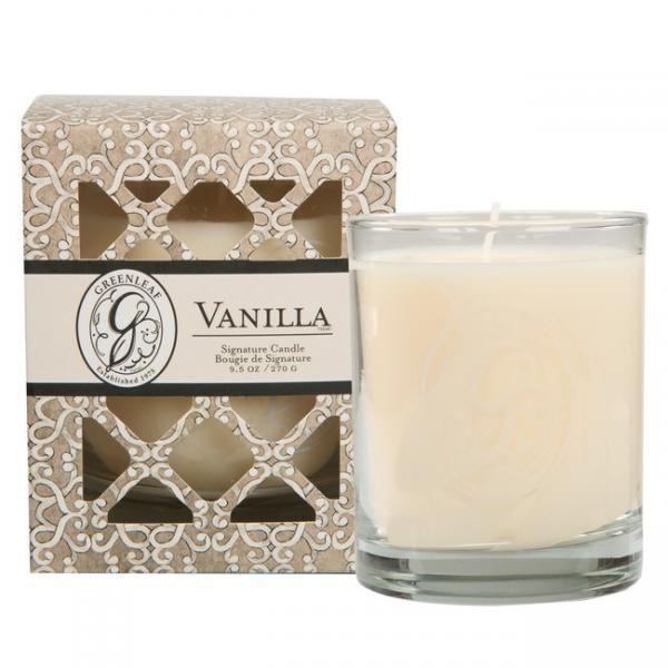 Greenleaf - Duftkerze im Glas - Signature Candle - Vanilla