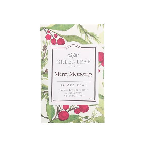 Greenleaf - Duftsachet Small - Merry Memories Δ