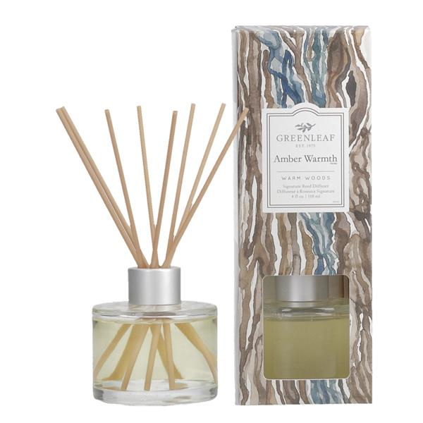 Greenleaf - Signature Reed Diffuser - Amber Warmth
