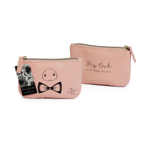 STC - Animal Shaped Coin Purse Pig Out