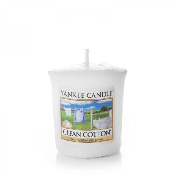 Yankee Candle - Classic Votive - Votivkerze - Clean Cotton