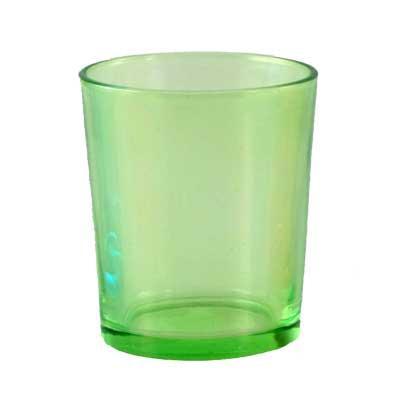 Votivkerzenhalter - Glas - grün