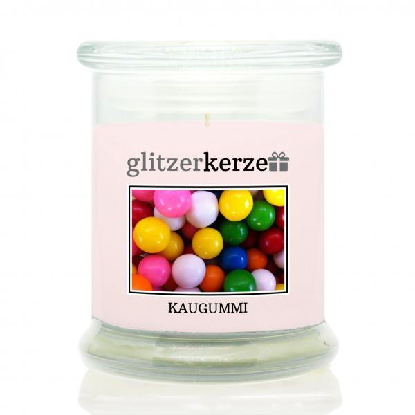 glitzerkerze - Duftkerze - Kaugummi
