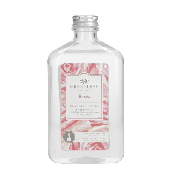 Greenleaf - Reed Diffuser Oil - Reedöl - Roses