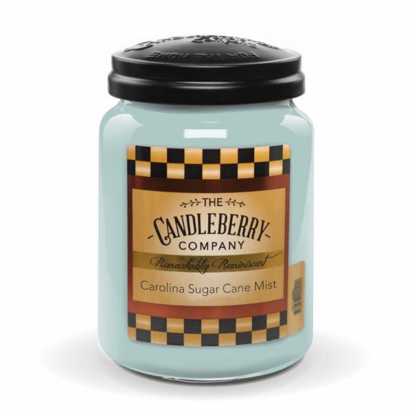 Candleberry - Duftkerze im Glas - Carolina Sugar Cane Mist