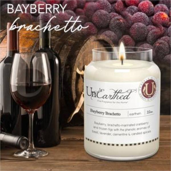 Candleberry - Duftkerze im Glas - Bayberry Brachetto