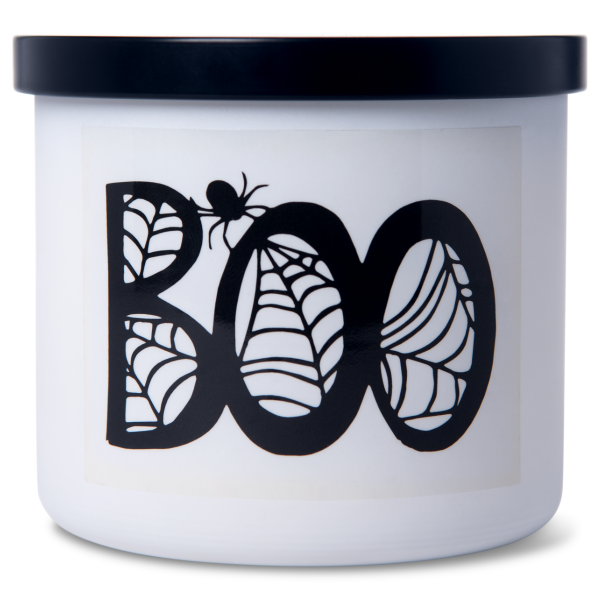 Colonial Candle - Mittlere Duftkerze im Glas - Halloween - Boo