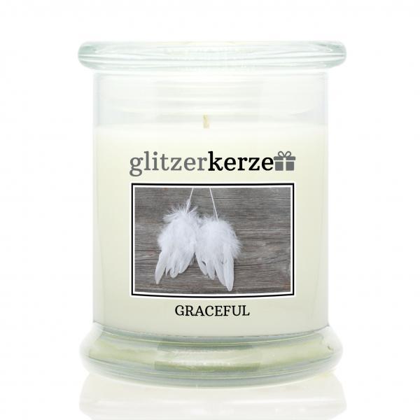glitzerkerze - Duftkerze - Graceful
