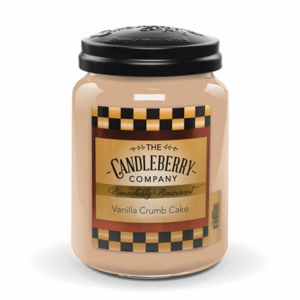 Candleberry - Duftkerze im Glas - Vanilla Crumb Cake